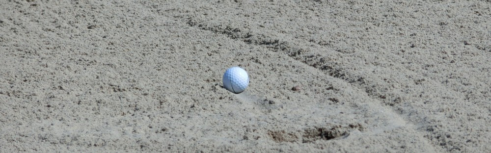Ball in bunker